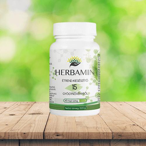 A Herbamin megoldja a hasi fájdalmakat.
