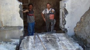 betonroppantás